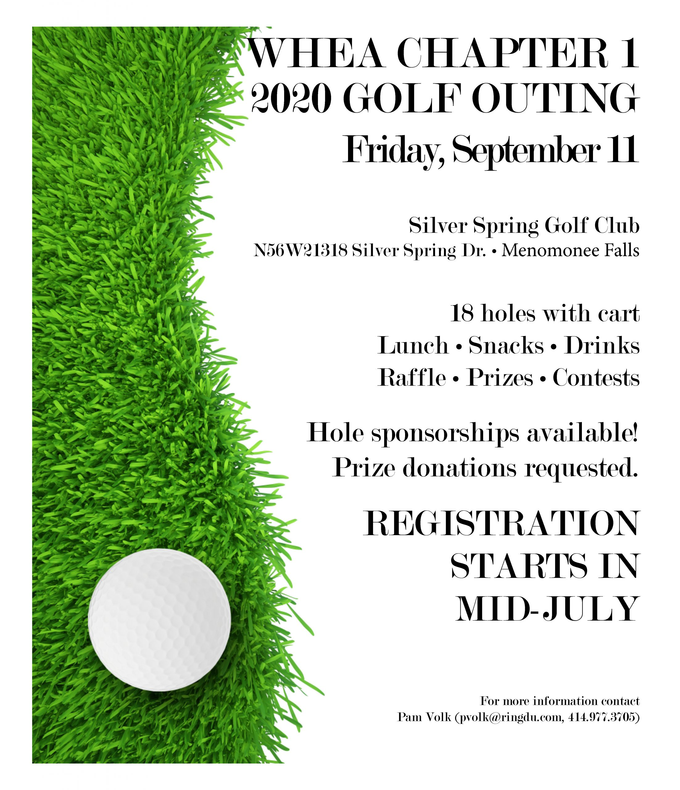 WHEA Chapter 1 Golf 2020 Flier